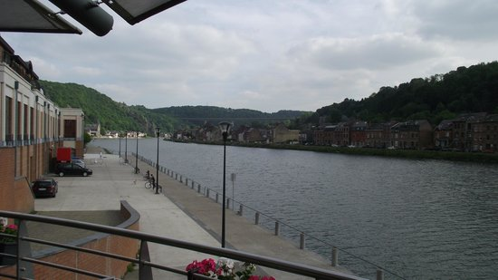 Ibis Dinant : view from terrace
