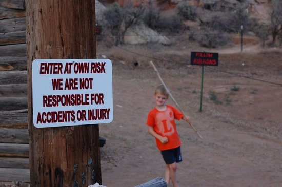 McConkie Ranch : Enter at your own risk (it's not very risky)