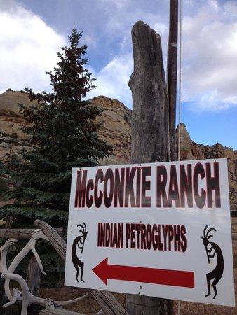 McConkie Ranch Petroglyphs