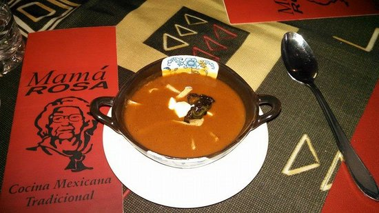 Vallarta Food Tours: Frijole Soup - Mama Rosa