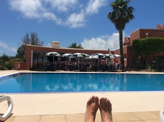 Hotel Belavista da Luz: Pool bar June 2014