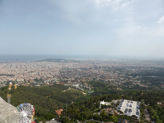 Tibidabo: View From Viewing Area