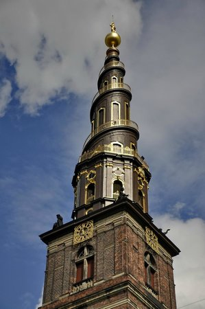 Église de Notre-Sauveur : Винтовая лестница церкви Спасителя