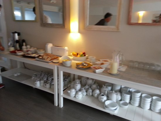 Atlantico Boutique Hotel : cafe da manha