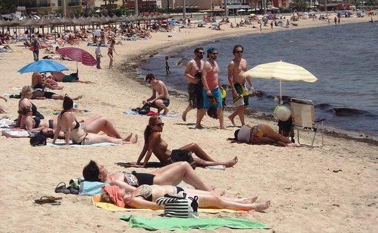 Can Pastilla Beach.