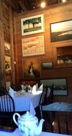 Village Tea Room at Borsari Gallery: Artwork