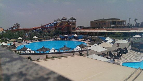 Labranda Aqua Fun Club Marrakech : One of memory from our room view
