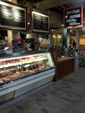 Reading Terminal Market: Our last stop - REAL german deli!