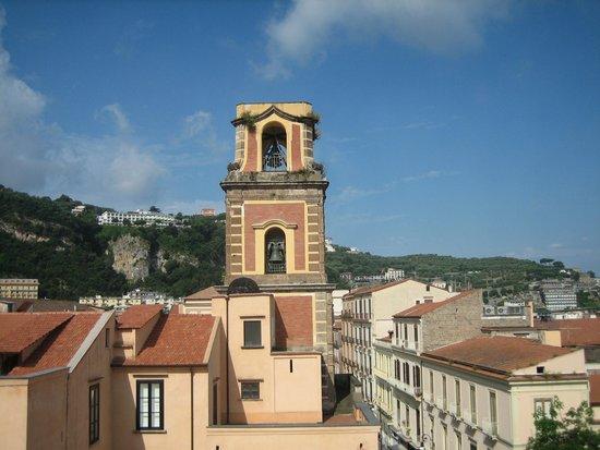 Palazzo Tasso : View from restaurant (Breakfast)