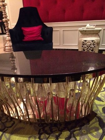The Scarlet Huntington: Funky furniture in the Lobby