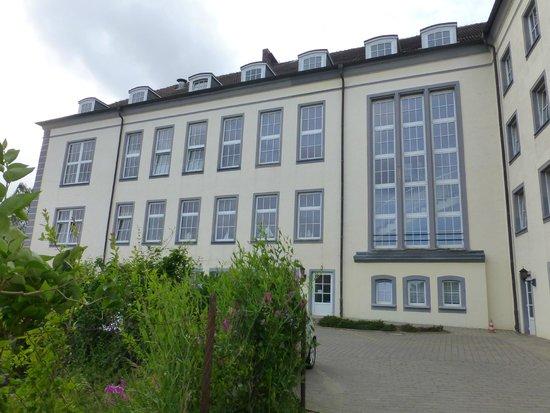 Kurhotel Sassnitz: Rückseite des Hauses
