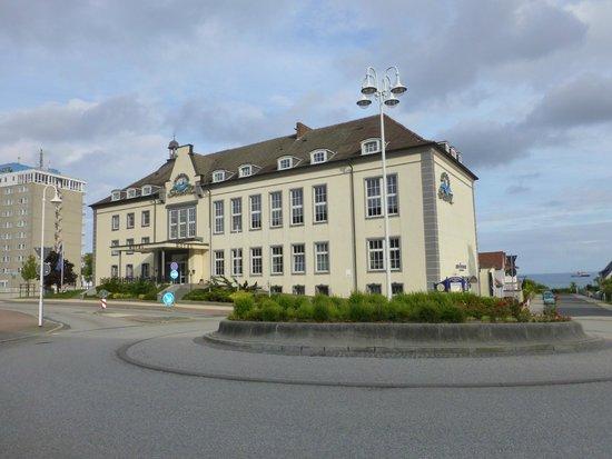 Vorderansicht des Kurhotel Sassnitz