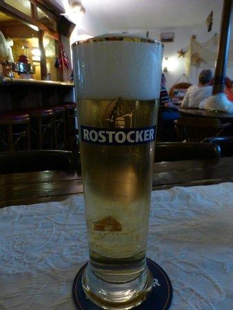 Kurhotel Sassnitz: Frisch gezapftes Bier