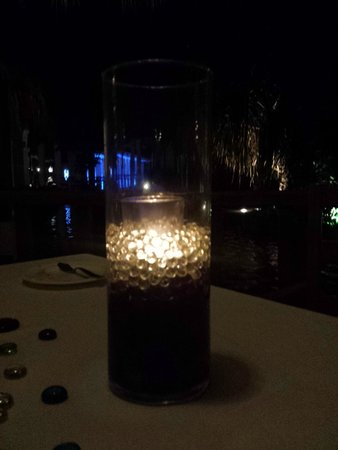Now Sapphire Riviera Cancun: French Cuisine romantic evening