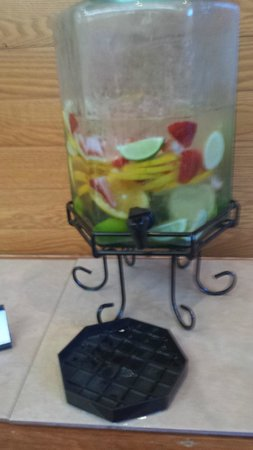 Columbia Marriott : I LOVE the Fruit water stations
