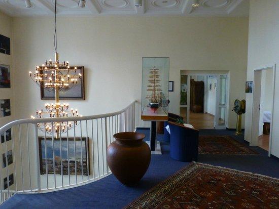 Kurhotel Sassnitz: Eingangsbereich Richtung Frühstück