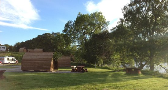 Loch Ness Shores: Wigwams