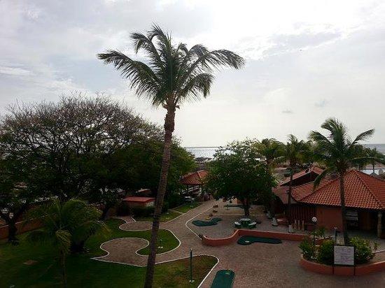 Paradise Beach Villas: view from balcony