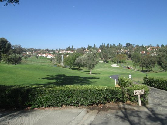 Rancho Bernardo Inn: view from snack bar