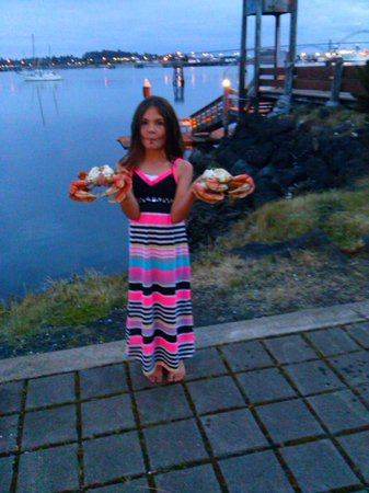 Embarcadero Resort Hotel: Crab Docks