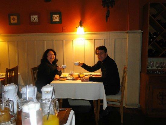Hosteria La Casita : café da manhã