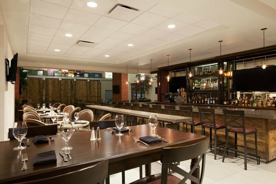 Embassy Suites by Hilton New Orleans Convention Center: The Levee Bar & Restaurant