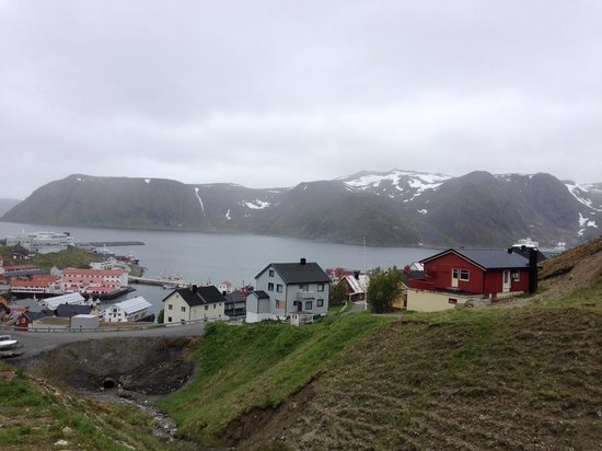 Scandic Bryggen: Aerial view from the hiking trail