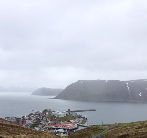 Scandic Bryggen: Another aerial view from the hiking trail