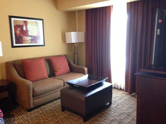 Homewood Suites Tampa Brandon: Living Room area
