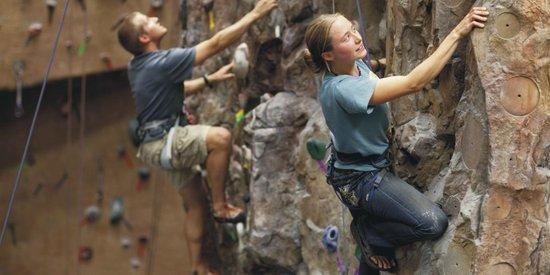 Adventure Zone: rock climbing facility