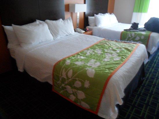 Fairfield Inn & Suites Lewisburg: 2 queens