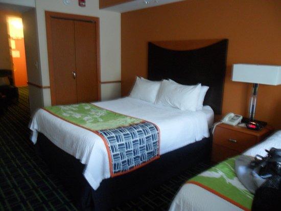 Fairfield Inn & Suites Lewisburg: comfy beds