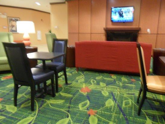 Fairfield Inn & Suites Lewisburg: breakfast area