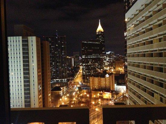 Hyatt Regency Atlanta: The View from our room