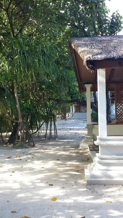 Reethi Beach Resort: the vila