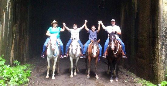 Horseshoe Creek Riding Stable : Horseshoe Creek Ride June 2014