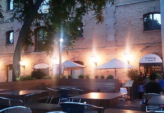 Tapas Club : La terraza