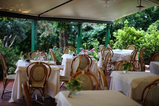 Villa Le Rondini : Pranzo all'aperto
