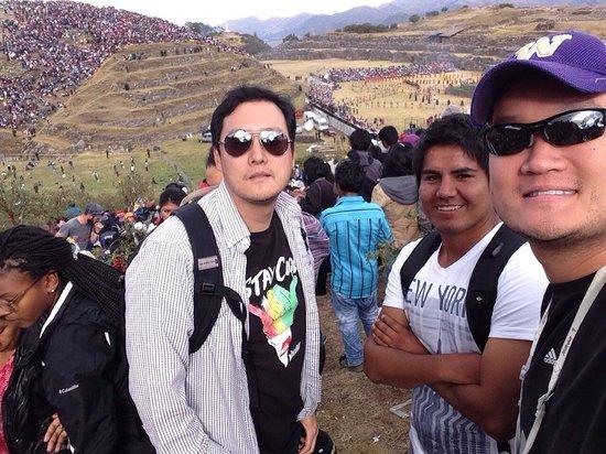 Cusco Local Friend: At the Sun Festival ceremony