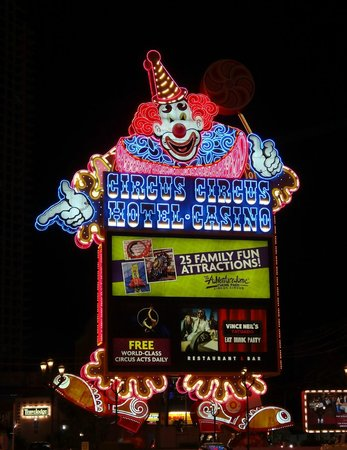 Circus Circus Hotel & Casino Las Vegas: Love the lights