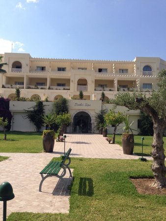 Seabel Alhambra Beach Golf & Spa : Front of spa