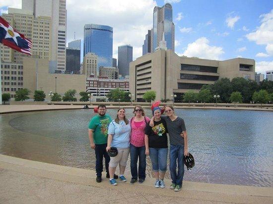 Segway Nation Dallas: A break to get Pics of the Dallas skyline