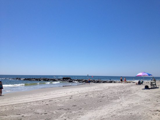 Ocean City Beach : Beautiful beach!