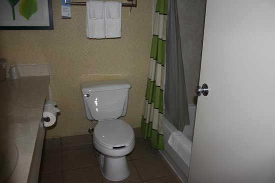 Fairfield Inn & Suites Youngstown Boardman/Poland : clean bathroom