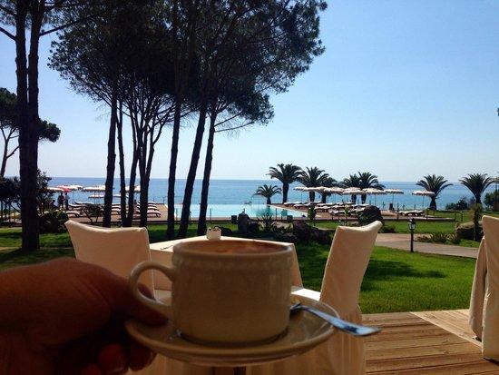 La Villa del Re - Adults Only Hotel: Le capuccino specialité de la maison !