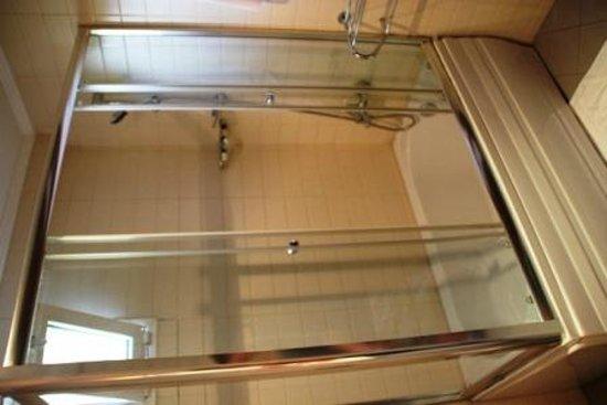 Hotel Djem: Bathroom - shower head has so many settings, it's fab