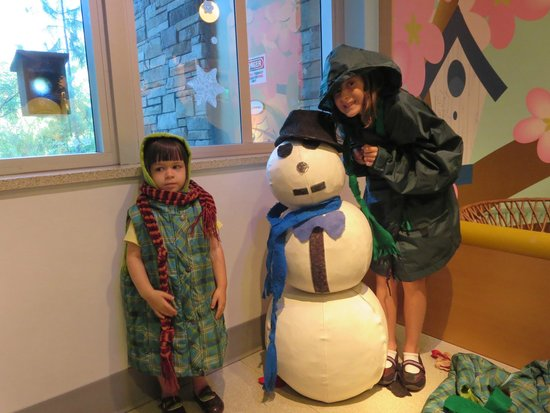 Golisano Children's Museum of Naples: with Frosty