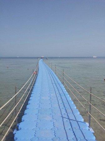 Coral Sea Sensatori - Sharm El Sheikh : Floating jetty