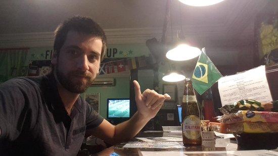 CabanaCopa Hostel : El mejor hostel en el que he estado. Buena gente, gran ubicación y la mejor caipirinha!