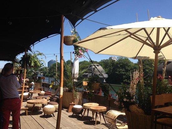 La Passerelle-Boulogne: La terrasse